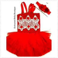 Valentines day outfit, valentine's day dress, easter outfit, Christmas outfit, red tutu, red tutu top, Victorian outfit Enchanted Bella Boutique 209 Rockaway Avenue Valley Stream, NY 11580 Www.enchantedbellaboutique.com