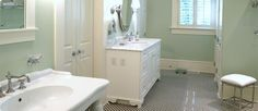 Eight inexpensive bathroom remodel ideas.