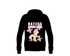 #‎Fluttershy‬ & ‪#‎Butterflies‬ design for Hoodies & more. Grab your own now at unamee.com! ‪#‎MLP‬ ‪#‎Pony‬