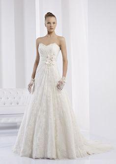Collezione abiti da sposa #Jolies, abito da #sposa modello JOAB13292IV