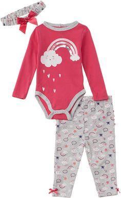 Quiltex Boys Toddler Bear Hug Print Cute Novelty Coverall 2 Pack Set
