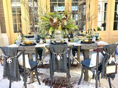 Farmhouse Christmas Table and the Kati Dress - Cindy Hattersley Design