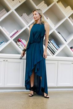 Forget the blues. Teal Monday.   - Lubov Azria