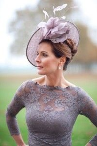 Perfect matching mauve fascinator and lace dress - racing carnival fascinator fashion ladieswear Discover our range of Nigel Rayment wedding hats & fascinators to complete your outfit. Fascinator Hats, Fascinators, Headpieces, Lilac Fascinator, Wedding Hats, Wedding Dresses, Wedding Vendors, Wedding Advice, Bride Dresses