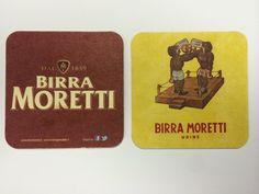 BEER MAT BIRRA MORETTI BREWERY ITALY SOUS BOCK