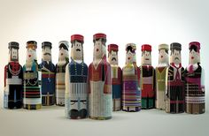 Gogreek Ouzo Miniatures on Packaging of the World - Creative Package Design Gallery