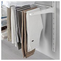 ALGOT pantolon askısı beyaz 60 cm | IKEA Ardiye Alanları