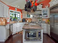 A Guide to Kitchen Layouts | Kitchen Ideas & Design with Cabinets, Islands, Backsplashes | HGTV