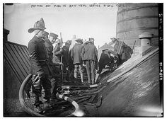 FDNY firefighters operating at fire at Bain News Service, Jan. 6, 1912. ★。☆。JpM ENTERTAINMENT ☆。★。