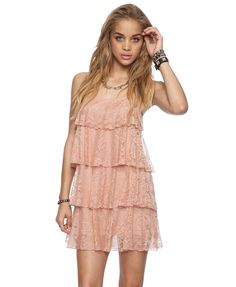 Lace Collar Sleeveless Dress - FOREVER21 - 2000039270 ...