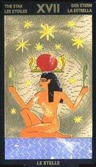 Belle Constantinne - The Star - Nefertari Tarot Star Tarot, Tarot Major Arcana, Daily Tarot, Oracle Cards, Moon Art, Card Reading, Tarot Decks, Ancient Egypt, Tarot Cards
