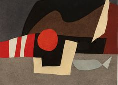 Afro (1912-1976), Invitation on a journey, 1975.