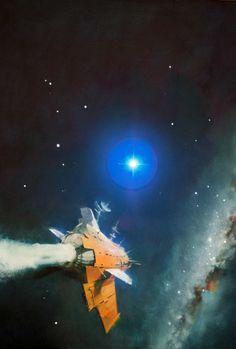 70s Sci-Fi Art, John Harris