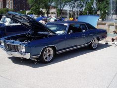1972 Chevrolet Monte Carlo ... blue exterior ... nice!! - LGMSports.com