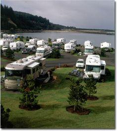 Winchester Bay RV Resort- Amazing views & so clean.