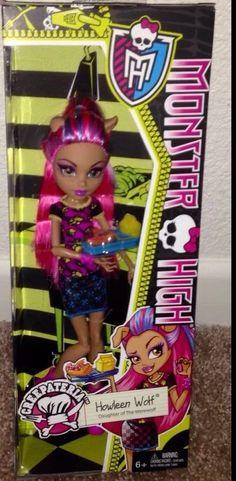 Monster High Creepateria Howleen New Doll   eBay