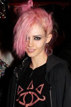 Wild pink hair