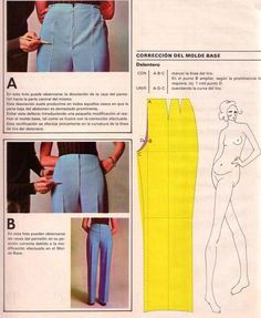 Pant fitting