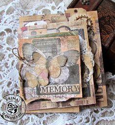 Handmade by Elena Smoktunova: Mini album for my Prima Classes/Миник для МК
