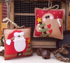 Cute little felt ornaments