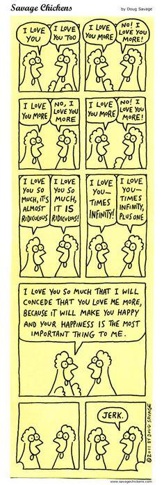 I Love You More...