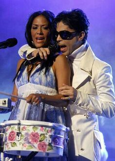 Prince and Sheila E.