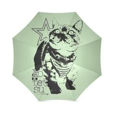 Kotetsu Cat Foldable Umbrella Cat Umbrella, In And Out Movie, Snapback Hats, Cat Love, Shoulder Handbags, Cats, Artist, Animals, Collection