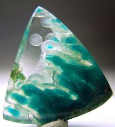 Chrysocolla Stalactites in Quartz Minerals And Gemstones, Crystals Minerals, Rocks And Minerals, Stones And Crystals, Gem Stones, Cool Rocks, Beautiful Rocks, Mineral Stone, Rocks And Gems
