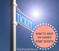 If you are going to Disney, you know how expensive Disney park tickets can be. We've got some ideas to help you save money on the cost your tickets!