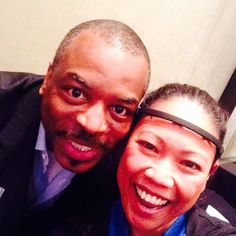 Thanks to LeVar Burton for demo'ing #Muse on stage at the World Technology Summit in NY! #WTS14 We're #ReadingRainbow & #NextGeneration fans!