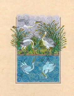 Kuşlar Birds Painting, Galaxy Wallpaper, Miniature Art, Drawing Illustrations, Nature Art, Art, Animal Paintings, Painting Lessons, Miniature Painting