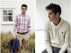 Lyle & Scott Men Heritage Spring/Summer 2012 Lookbook: Finer Fashion Standards To Fit Young Male Consumers' Style Transition Requirements