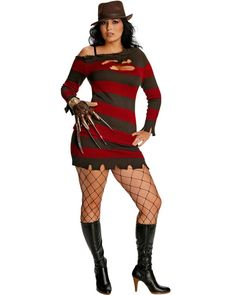 Sexy Miss Krueger Womens Plus Size Costume #Halloween2013
