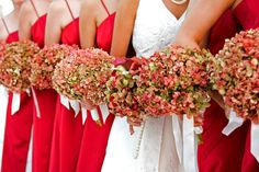 Hydrangea bouquets by Kebbie Hollingsworth Floral Design