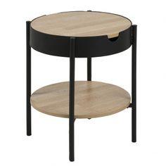 2800kc Konferenční / servírovací stolek Lipton, 45 cm, dub