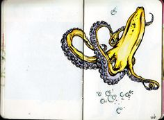 Bananapus... I won't lie. I kind of want to get this as a tattoo.