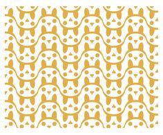CUTE! bunnies galore <3  pattern