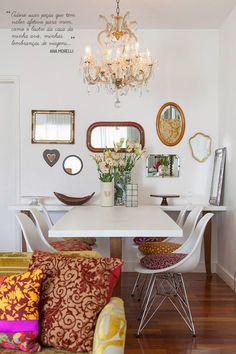 Decorando: Sala de Jantar