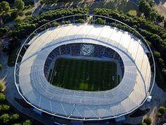 Hanover World Cup Stadium/AWD-Arena,2006 FIFA World Cup Germany Soccer Stadium, Football Stadiums, World Cup Stadiums, Fifa World Cup, Germany, Building, Van, Soccer, City