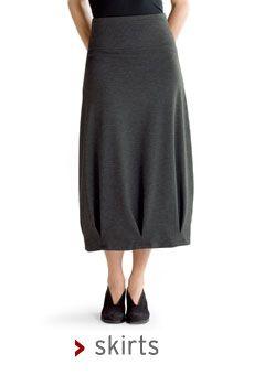 Flattering bubbie skirt