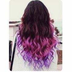 Pink/purple tips