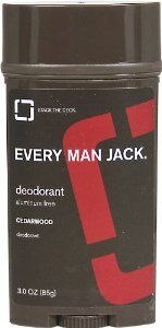 Every Man Jack Deodorant Stick Aluminum Free Cedar Wood, Cedar Wood 3 oz by Every Man Jack. $5.31. Every Man Jack; Every Man Jack; Cedarwood Deodorant Aluminum Free-3 oz-Stick : Cedarwood Aluminum Free WILL THIS MAKE ME A WINNER? Just by a nose. Our naturally derived deodorant provides long lasting odor protection and helps absorb sweat and moisture. All without the use of aluminum or other harsh chemicals, leaving you feeling and smelling fresh and clean. Ahh. WHAT MAKE...