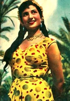 Naima Akef, one of Egypt's most renowned belly-dancers and actresses during Egyptian cinema's golden age. http://www.youtube.com/watch?v=yZXZ2a_lsZA