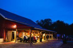 Reception here at Hope Glen Farm.