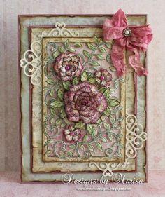 Vintage Floret Card