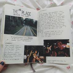 Film Journal 05 - The Place Beyond the Pines Journal Diary, Journal Layout, Journal Pages, Journals, Notebooks, Bullet Journal Aesthetic, Bullet Journal Inspo, Film Inspiration, Art Journal Inspiration