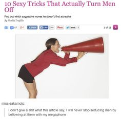 Don't let an advice column tell you how to have sex. | 19 Flawless Pieces Of Sex Advice From Tumblr