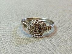 free instructions fancy rose wire ring