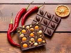 1,113 mentions J'aime, 7 commentaires – Callebaut Chocolate (@callebautchocolate) sur Instagram : «Let's spice things up this weekend  chocolate bar with orange drops, nuts and... smoked Jalapeños…»