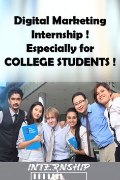 Digital Marketing Internship – especially for COLLEGE STUDENTS – is the topic we're going to discuss in this article. This guide is going to help the students who are planning to pursue a Digital marketing internship alongside what they are doing in life. Marketing Interview Questions, Interview Questions And Answers, Marketing Jobs, Digital Marketing, Freelance Programming, What Is Digital, Internship Program, New Career, Entry Level